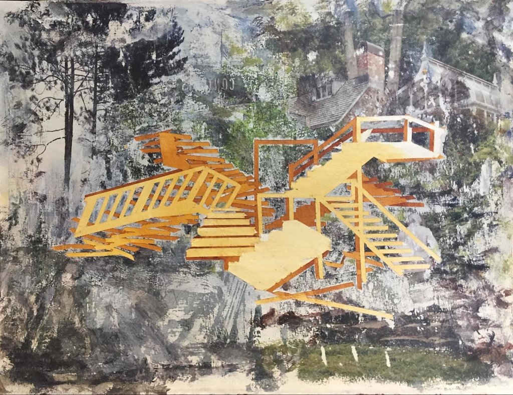 Untitled (stairs), 2017