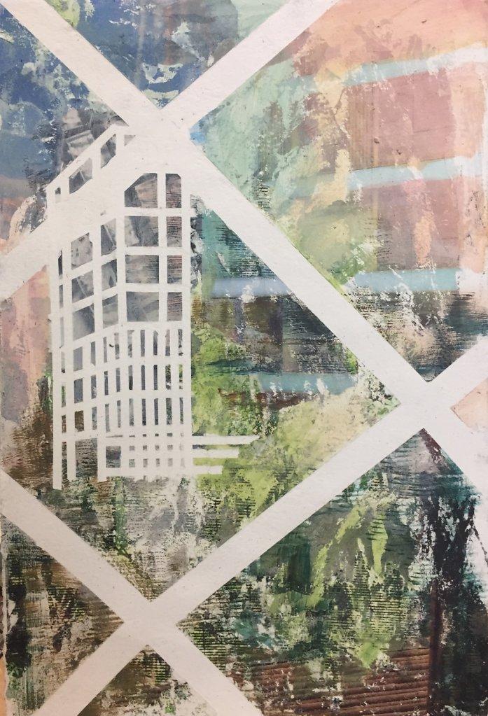 Untitled (through a Fence), 2016