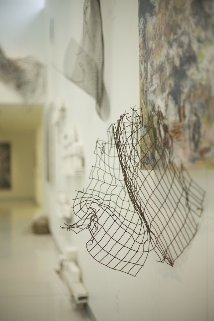 Rise and Fall exhibit, Diane Endres Ballweg Gallery, WI, 2016-2017