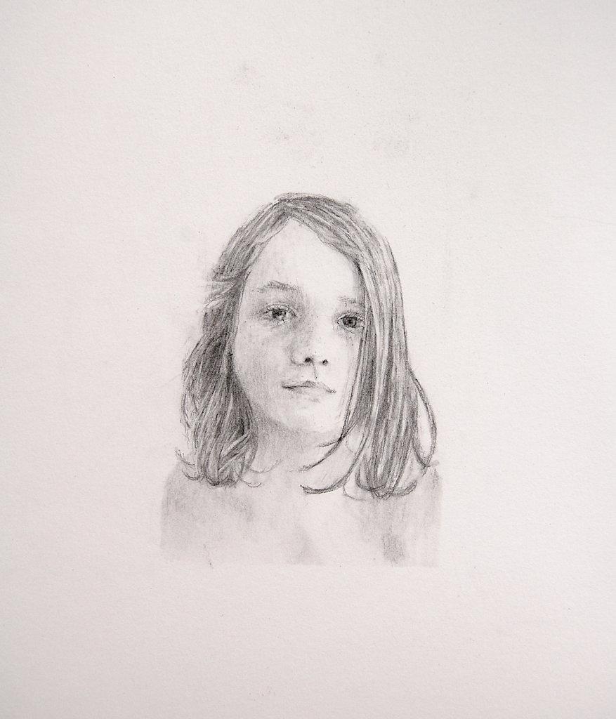 Sophia, Eyes Open (detail), 2010-11